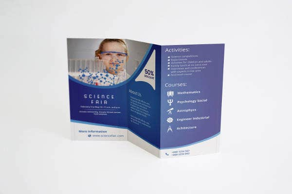 16  science brochure designs  u0026 templates