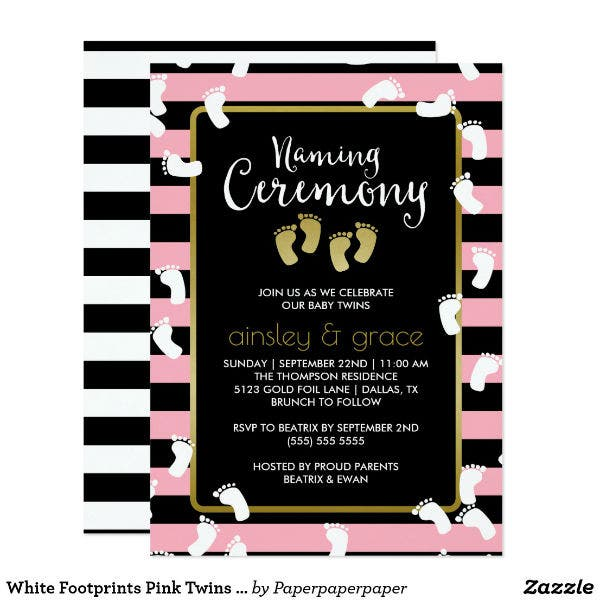 twins-naming-ceremony-invitation-card-template