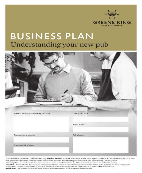 9 bar business plan templates pdf free premium templates new pub business plan example cheaphphosting Image collections