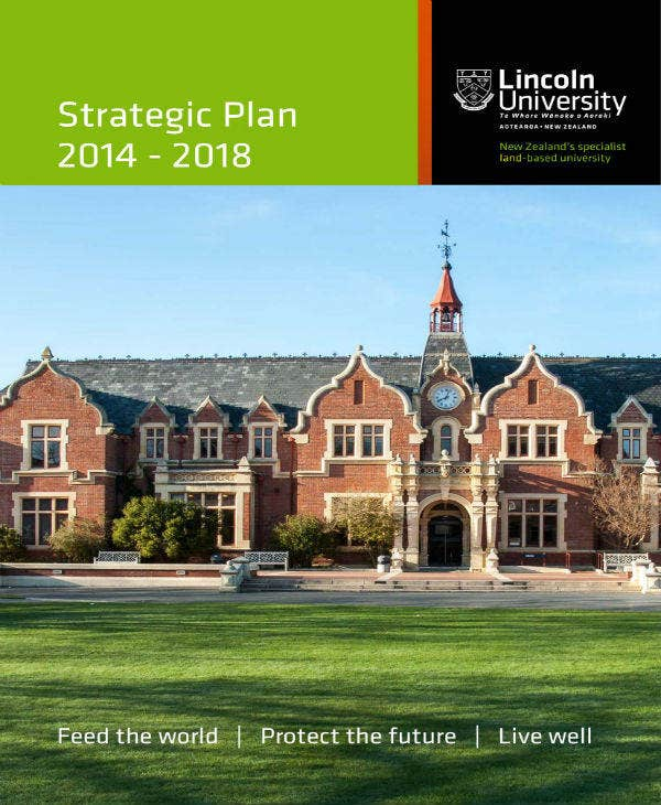 University Strategic Plan 2014-2018