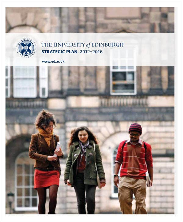 university strategic plan