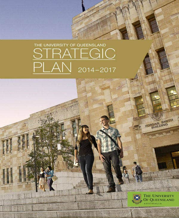 University of Queensland Strategic Plan
