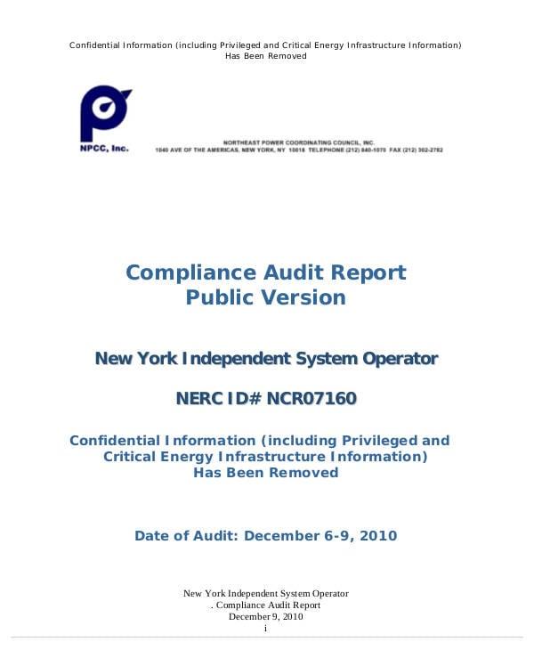 11+ Compliance Audit Report Templates - PDF | Free & Premium