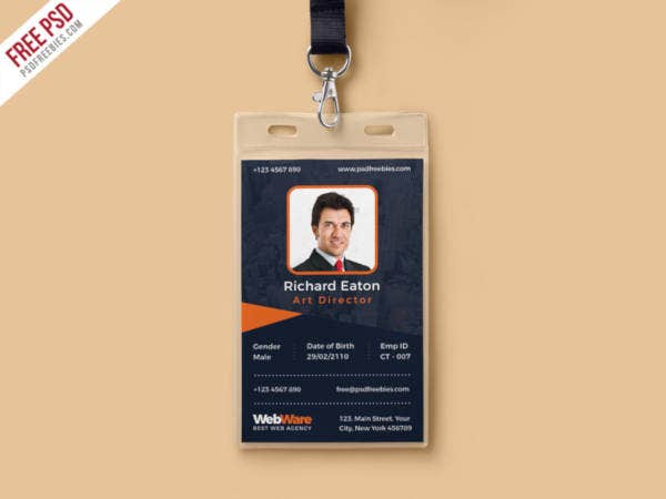 vertical-company-identity-card