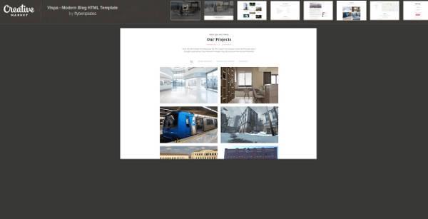 vispa modern blog html template1