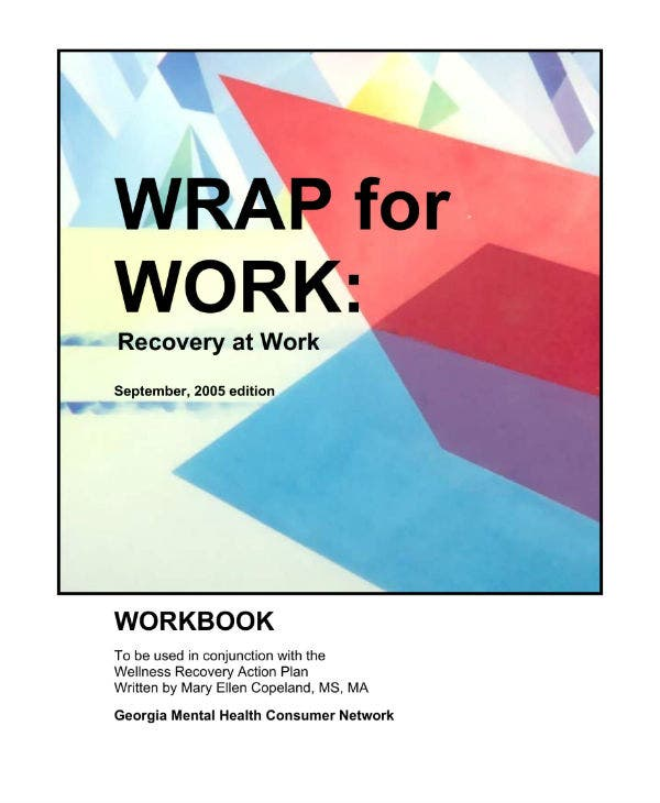 wrap for work template