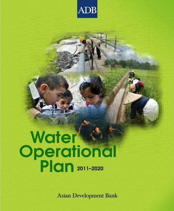 water project operation plan