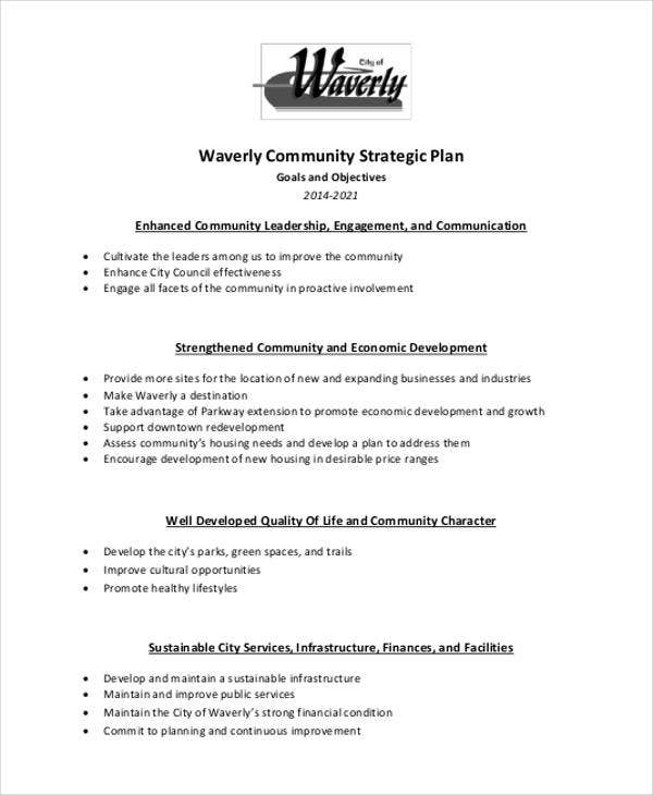 waverly community strategic plan