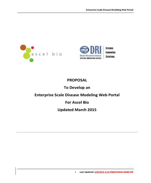 web portal proposal 1