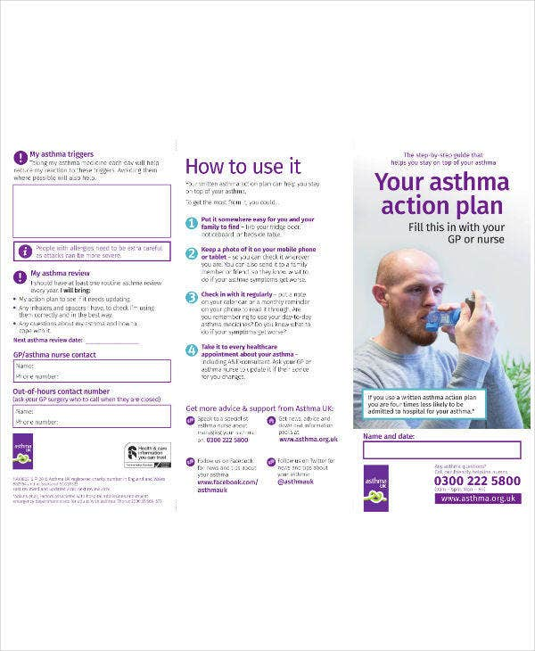 Your Asthma Action Plan Template