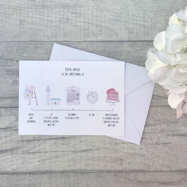 13 Naming Ceremony Invitation Card Templates Designs