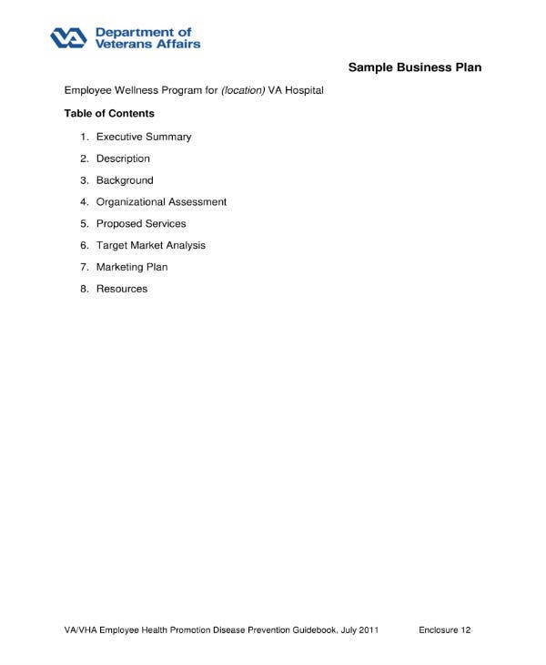 sample business plan 1