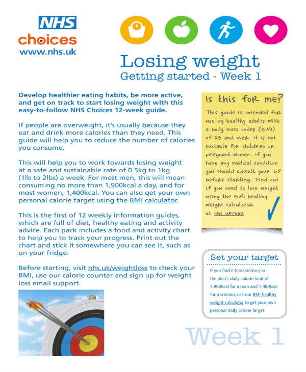 weight loss packet plan 01