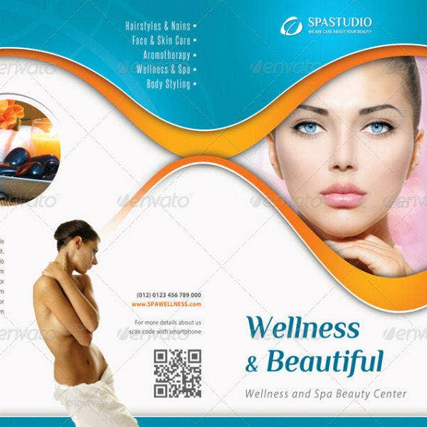 3 in 1 spa wellness brochure template bundle1