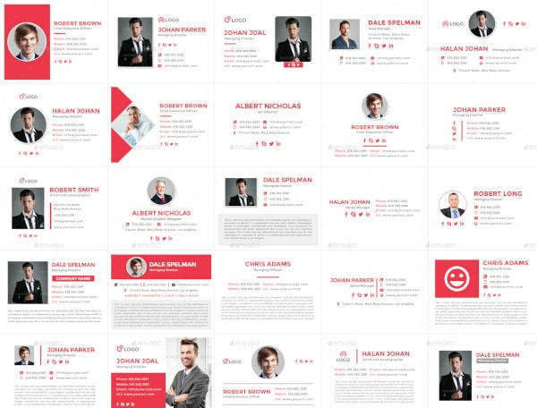 350-email-signature-templates-html-files-included