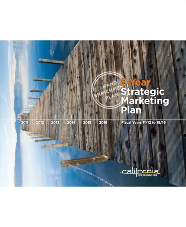 5 year strategic marketing plan