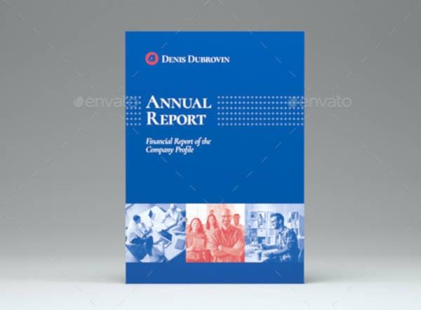 a5 annual report cover design