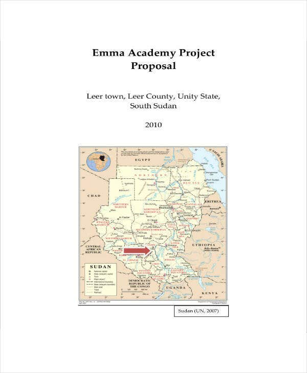 academy project proposal sample
