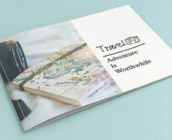 Adventure Travel Agency Brochure Template