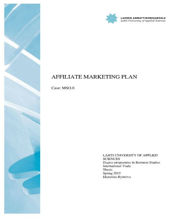 affiliate marketing plan template 01
