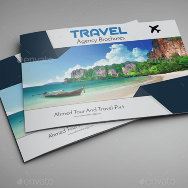 Ahmed Travel Agency Brochure Template