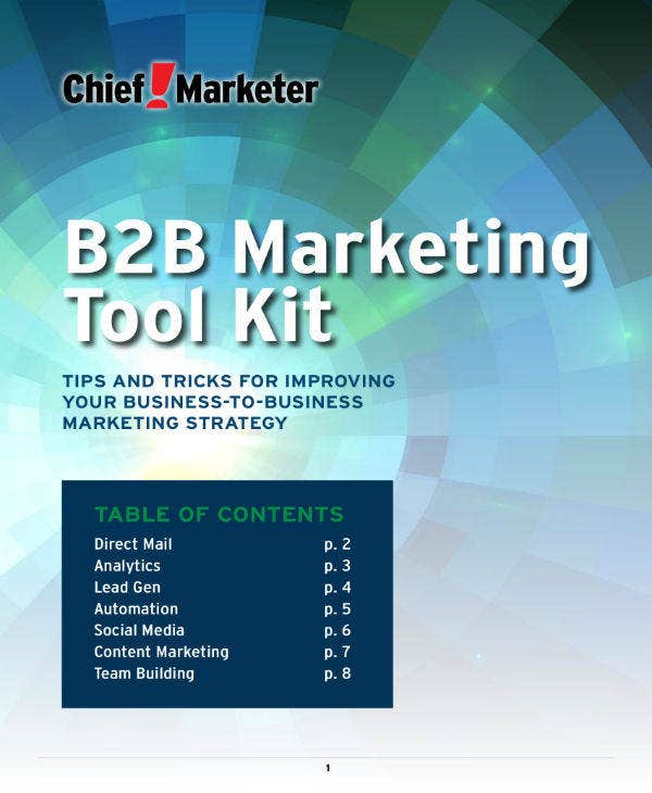 B2B Marketing Business Plan Toolkit