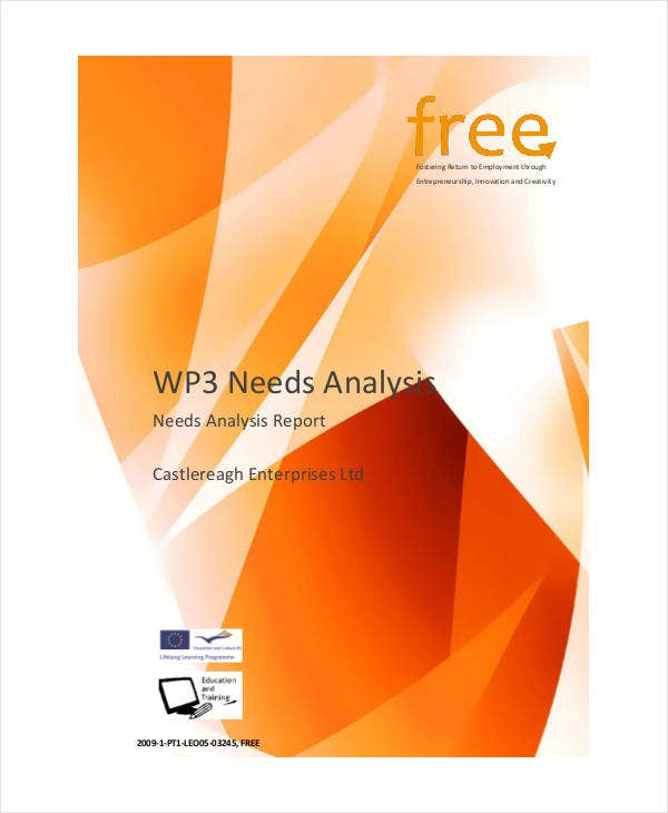 Business Needs Analysis Report