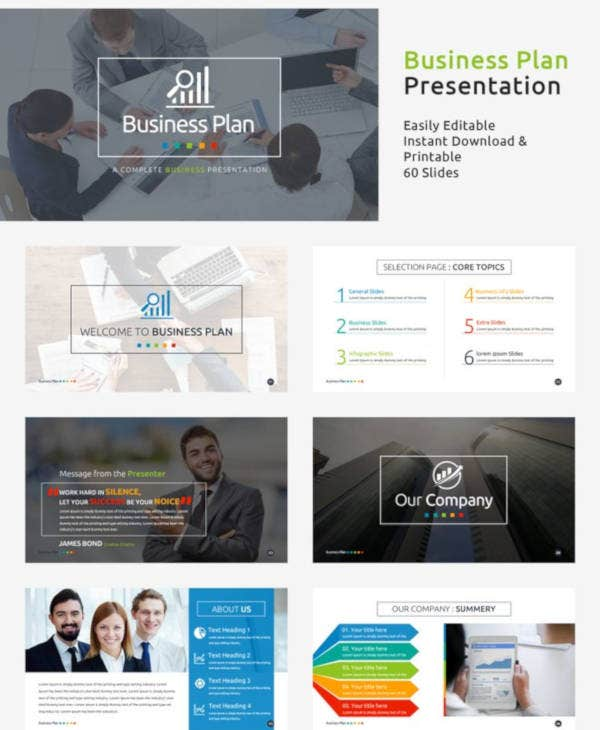 business plan presentation template2