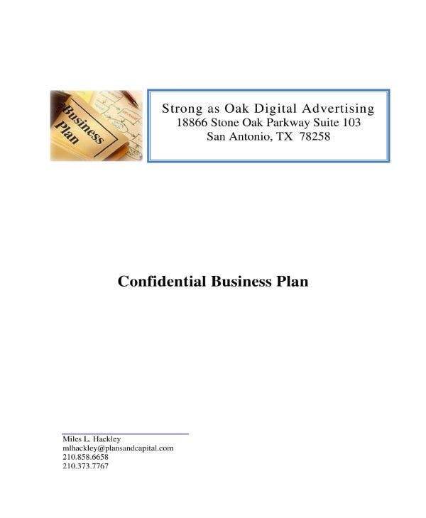 business plan sample 01