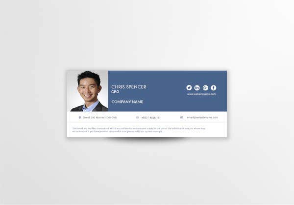 ceo email signature template1