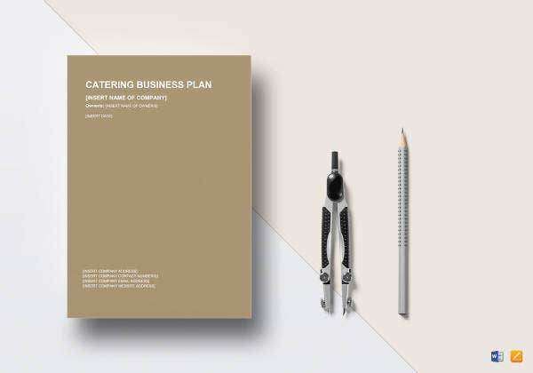 7 restaurant and catering business plan templates pdf word catering business plan template friedricerecipe Image collections