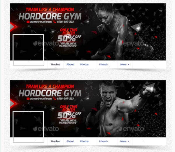 Champion Gym Cover Template