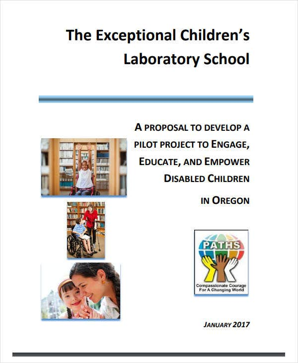 childrens laboratory school project proposal