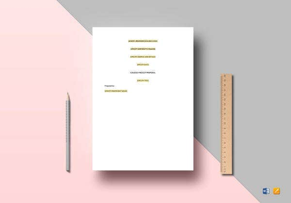 college project proposal template1