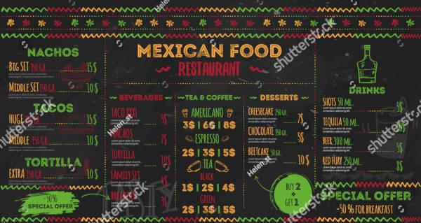 13  mexican restaurant menu designs  u0026 templates