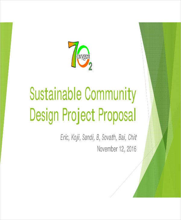 community design development proposal