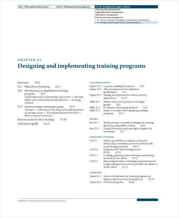 Comprehensive Training Project Plan