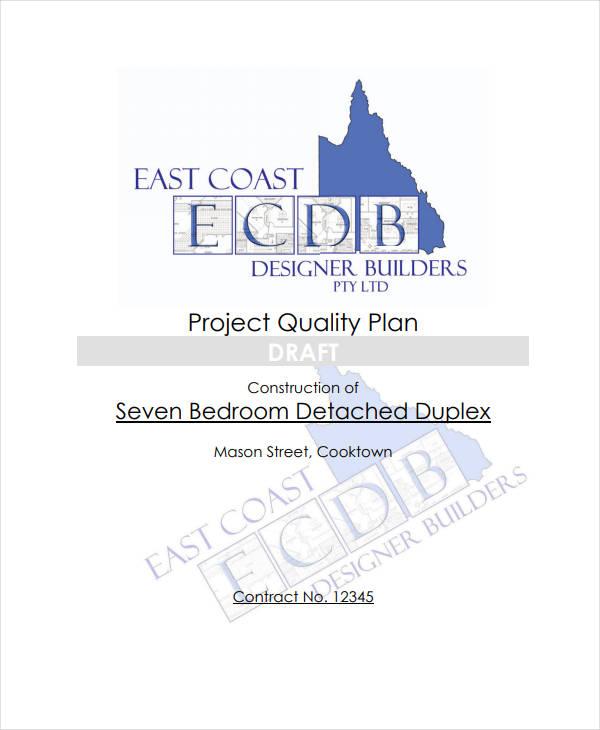 construction project management plan