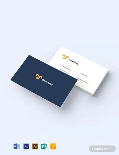 consulting engineer business card template
