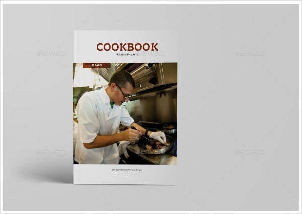 Cookbook Recipes Catalogue Template