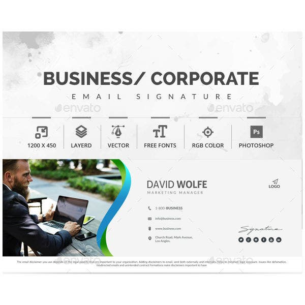 corporate-manager-email-signature-template