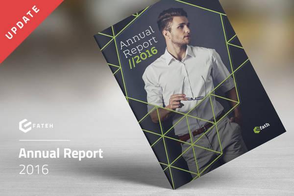 Creative Annual Report Cover Template