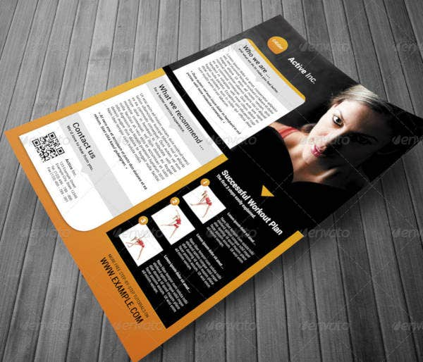 creative business flyer example