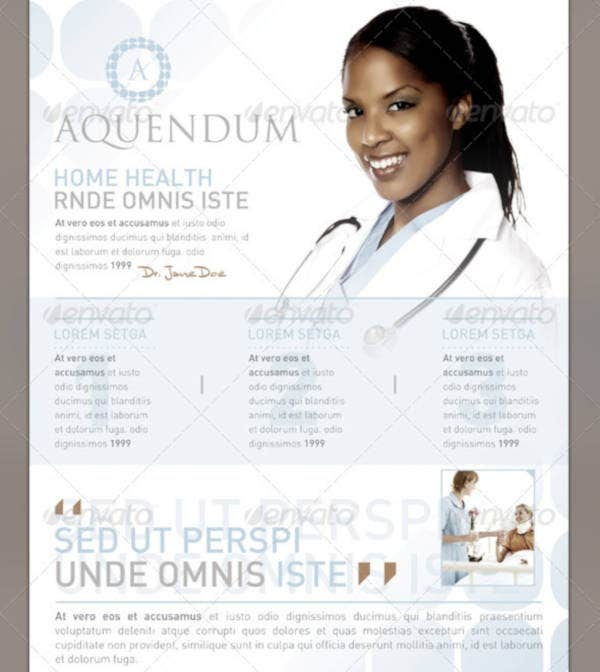 Creative Healthcare Flyer Template