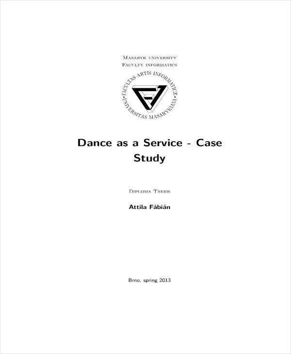 dance studio business plan sample