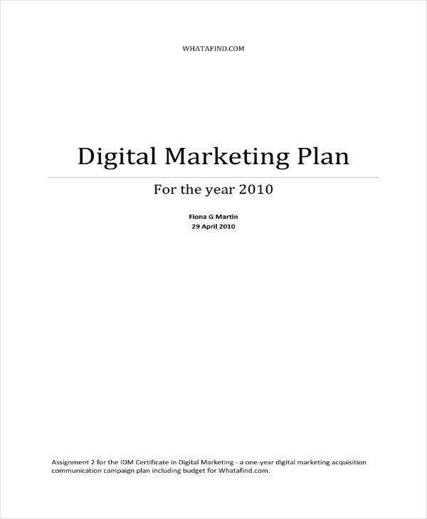 digital marketing strategy for affiliates