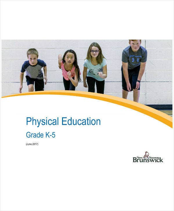 Elementary Physical Education Lesson Plan Sample
