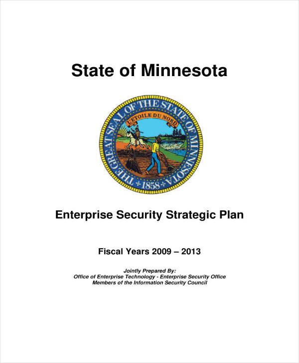 Enterprise Security Strategic Plan
