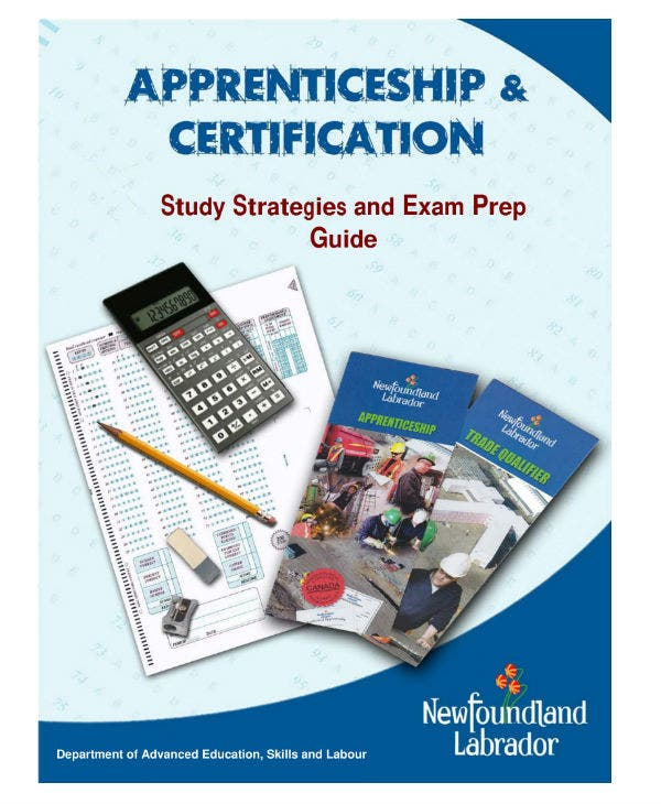 exam preparation study planner guide and sample