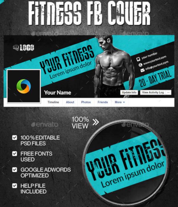 Fitness Gym Cover Design